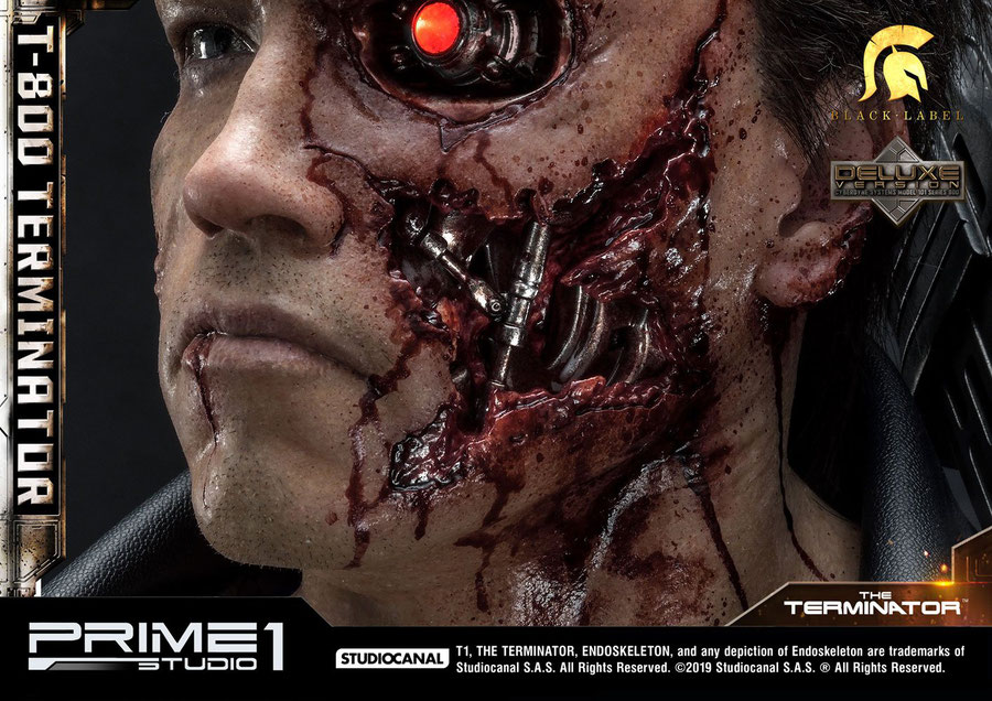 T-800 Deluxe Version 1/2 Terminator ( Arnold Schwarzenegger ) Statue 117cm Prime 1 Studio