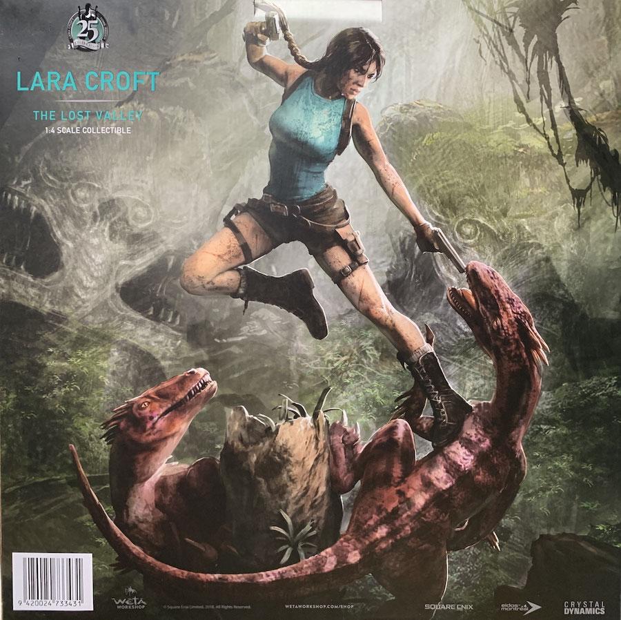 Lara Croft The Lost Valley 1/4 Tomb Raider Statue 80cm Weta weta880103343