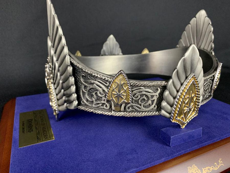 König Elessars Krone 1/1 Life Size Herr der Ringe LOTR Noble