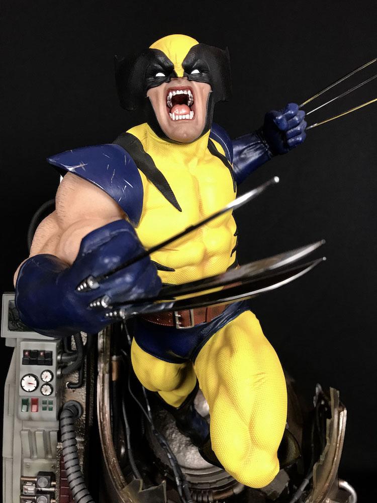 Wolverine 1/4 Legacy Replica Statue 46cm Marvel Comics X-Men Iron Studios