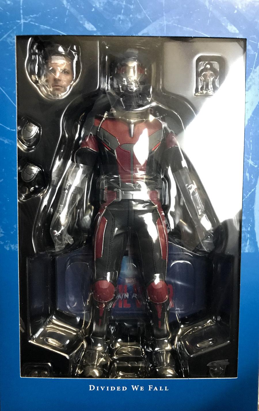 Ant-Man 1/6 Captain America - Avengers Civil War Marvel Actionfigur Movie Masterpiece 30cm Hot Toys HOT902698
