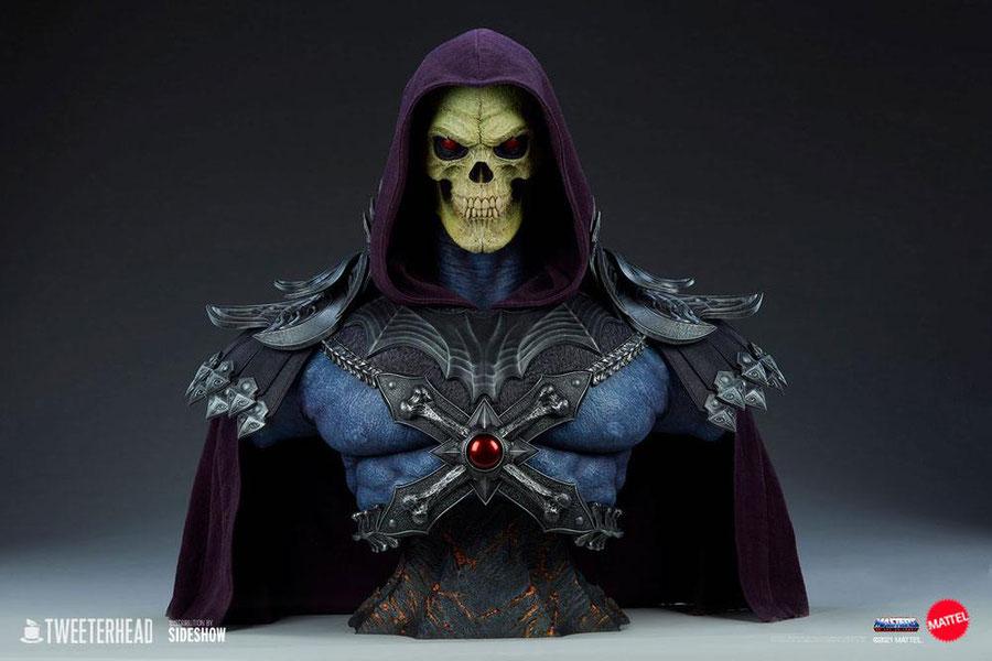 Skeletor 1/1 Life-Size Masters of the Universe Legends Büste 71cm Motu Tweeterhead