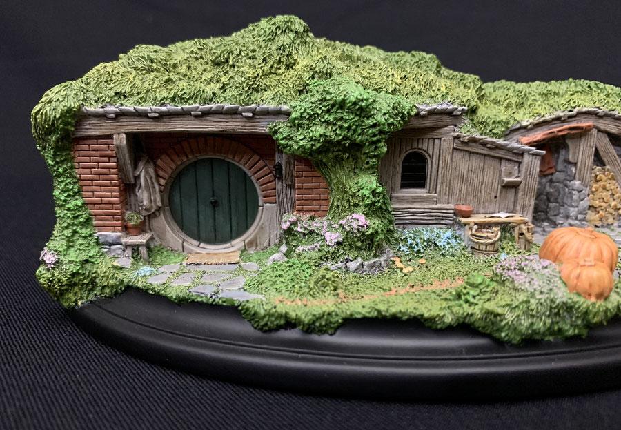 Hobbit Hole 19 & 20 Der Hobbit Eine unerwartete Reise Statue Environment 20cm Weta