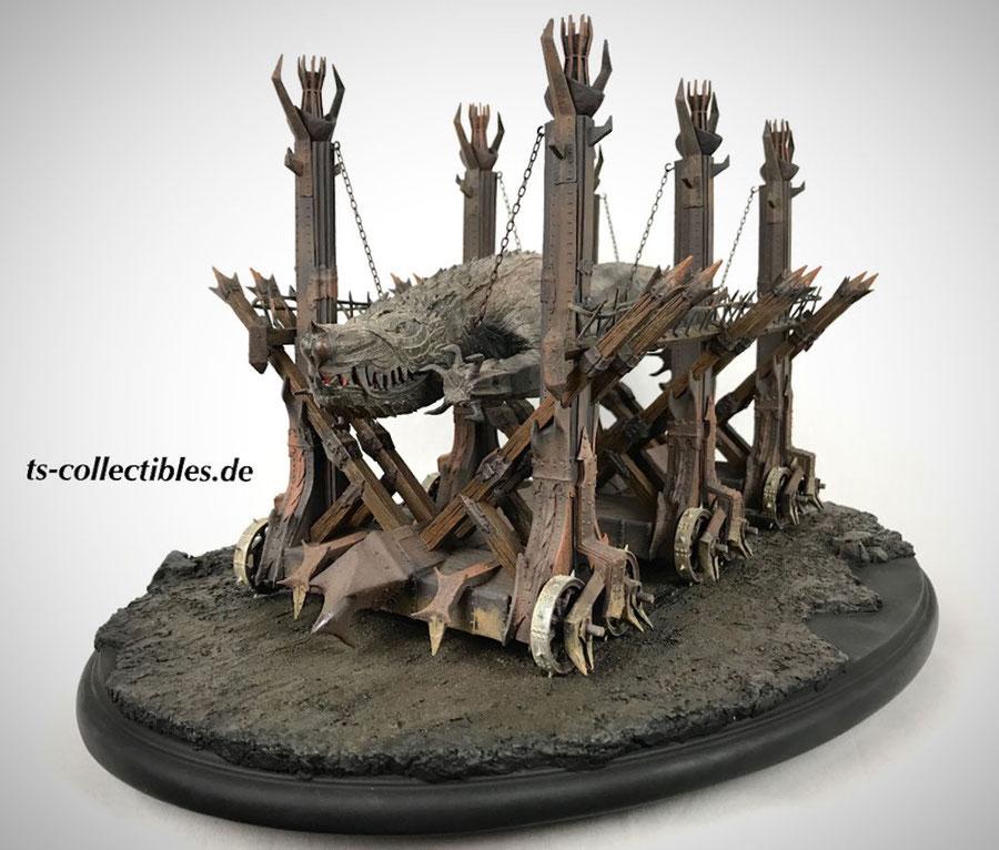 Grond Riesenramme 42cm Herr der Ringe Weta Lord of the Rings 1/92 Statue WETA860101609