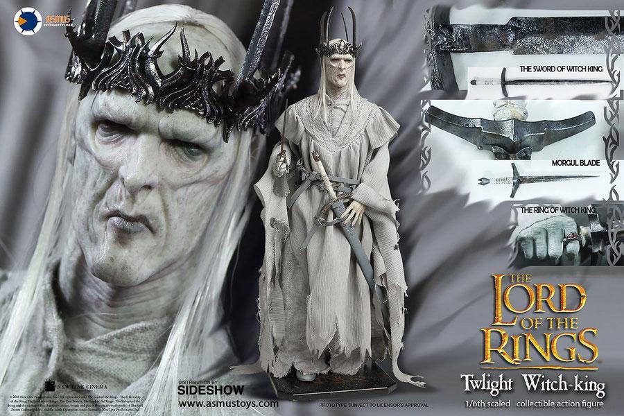 Twilight Witch-King 1/6 Herr der Ringe Mittelerde Actionfigur 30cm Asmus Toys ACT905422