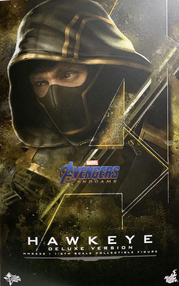 Hawkeye Deluxe Version 1/6 Marvel Avengers: Endgame Movie Masterpiece Actionfigur 30cm Hot Toys
