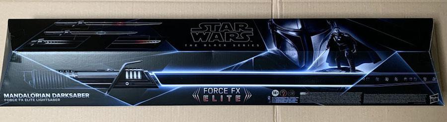 Darksaber Force FX Elite Lichtschwert Star Wars The Mandalorian Black Series 1/1 Life Size Hasbro