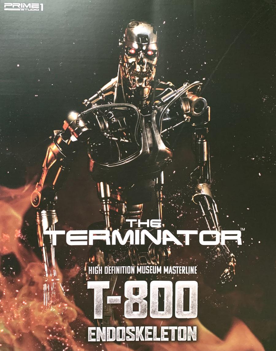 T-800 Endoskelett 1/2 Terminator Statue 105cm Prime 1 Studios
