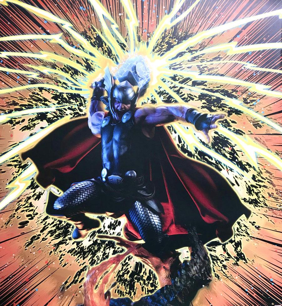 Thor - Breaker of Brimstone 1/4 Premium Format Marvel Comics 65cm Statue Sideshow SS300673