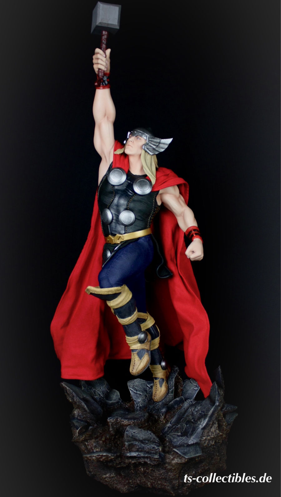 Thor 1/5 Avengers Assemble Marvel 65cm Statue Sideshow SS200353