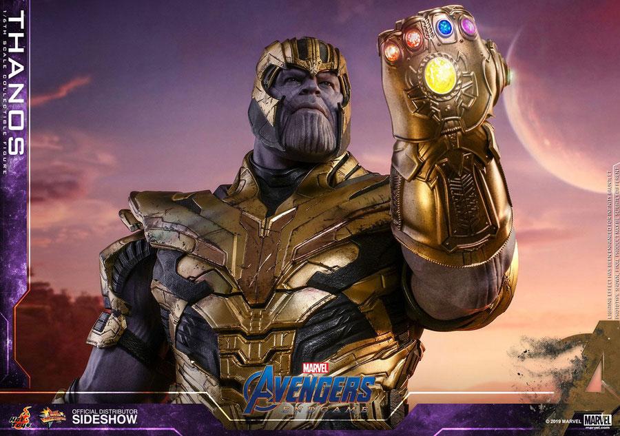 Thanos 1/6 Marvel Avengers: Endgame Movie Masterpiece Actionfigur 42cm Hot Toys hot904600