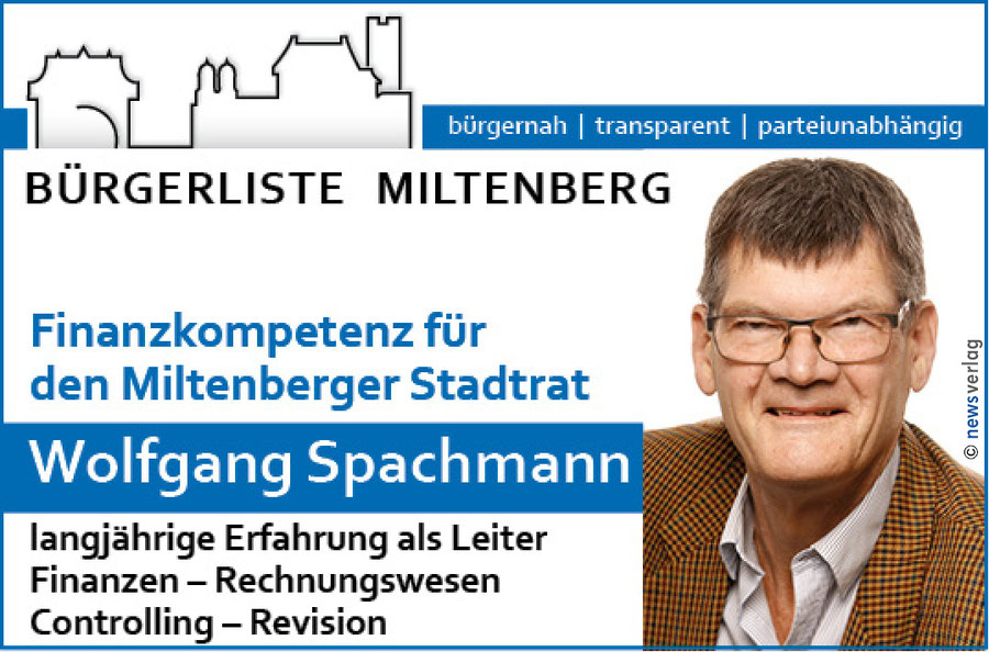 Bürgerliste Miltenberg Wolfgang Spachmann
