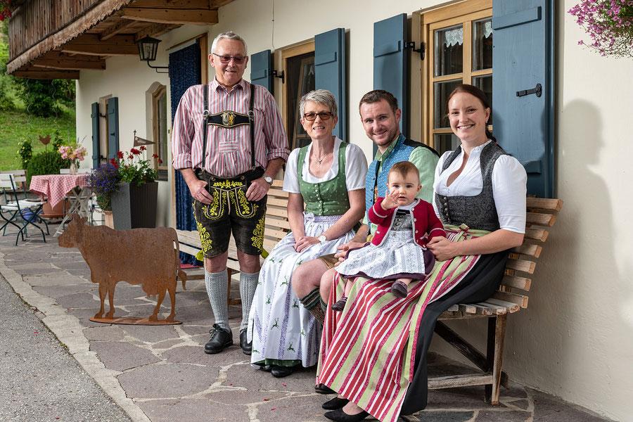 Familie Georg und Martina Kogler