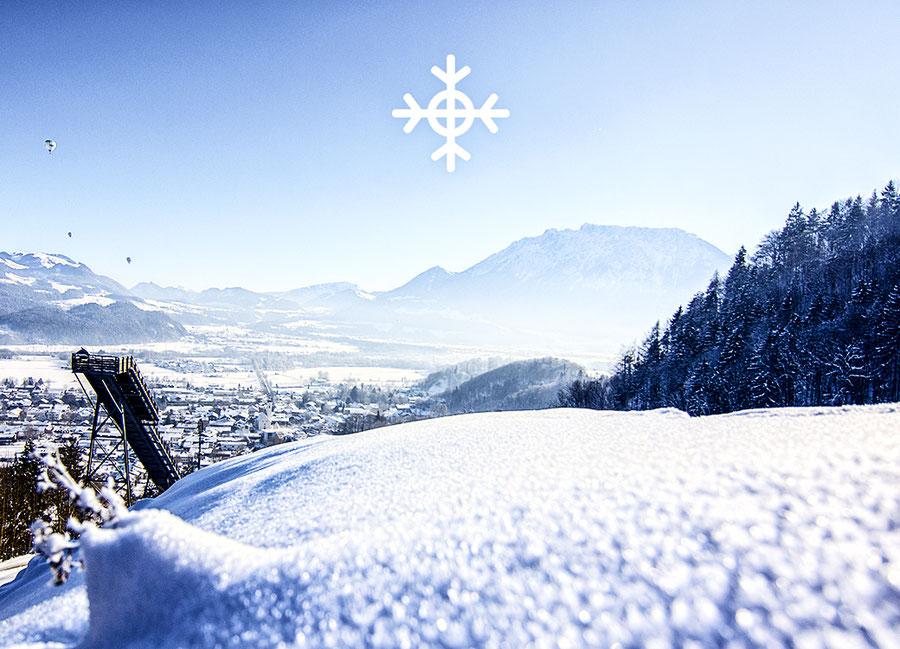 Skifahren und Snowboarden in Oberaudorf