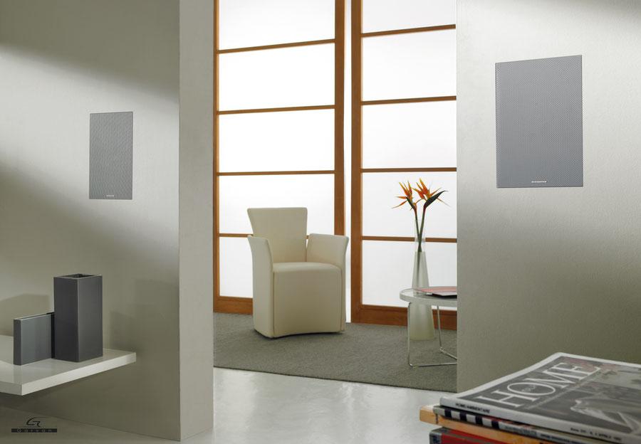 Diffusori di design filo parete raso muro personalizzabili