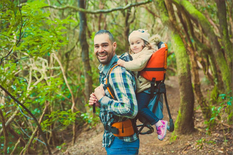 reportajes de fotos familias en Tenerife