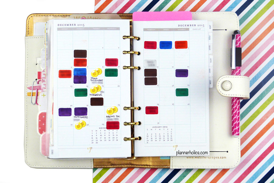 How to track your expenses in a monthly calendar