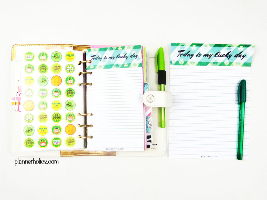St.Patrick´s Day notepaper printable