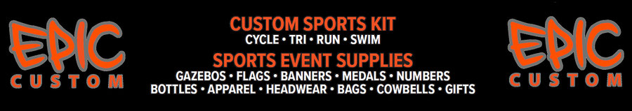 Custom Apparel for Cycle, Tri, Run & Sports Event Supplies
