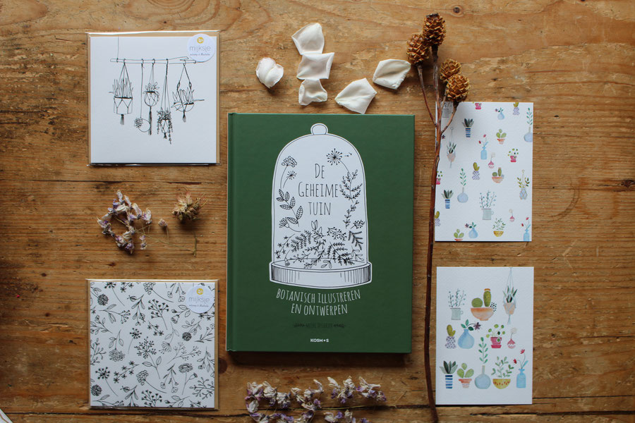 Boek review de geheime tuin unieke papieren bloemen for De geheime tuin boek