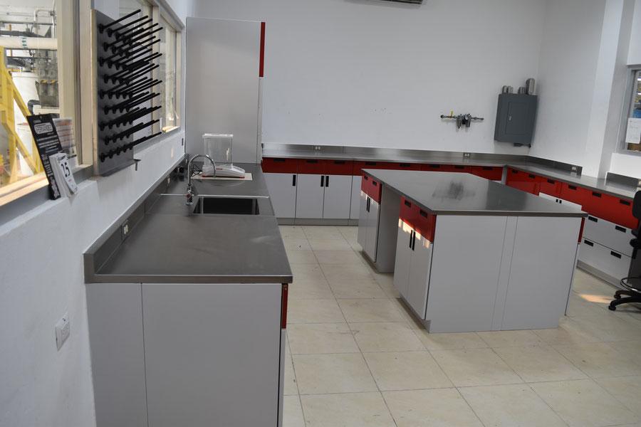 Muebles para laboratorio en Querétaro, tipos de laboratorios