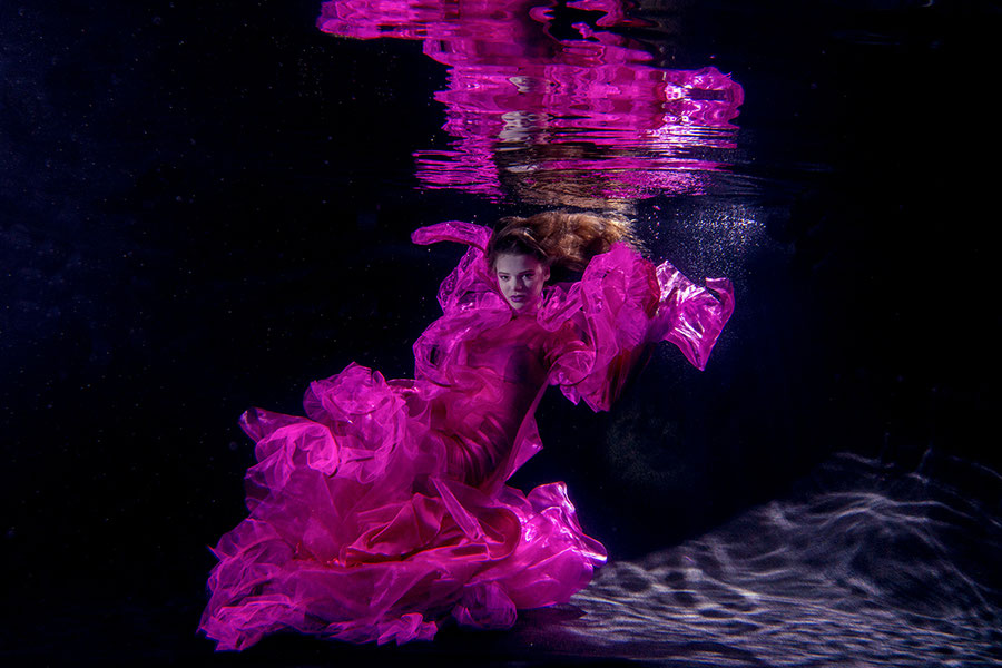 eines der ersten Fotos Unterwasser