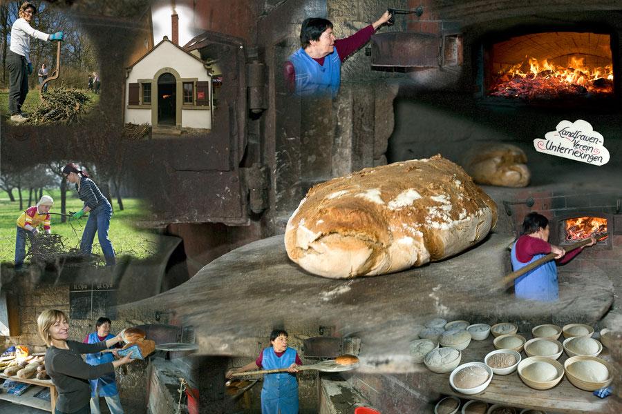 Vom Büschelbinden bis zum fertigen Brot