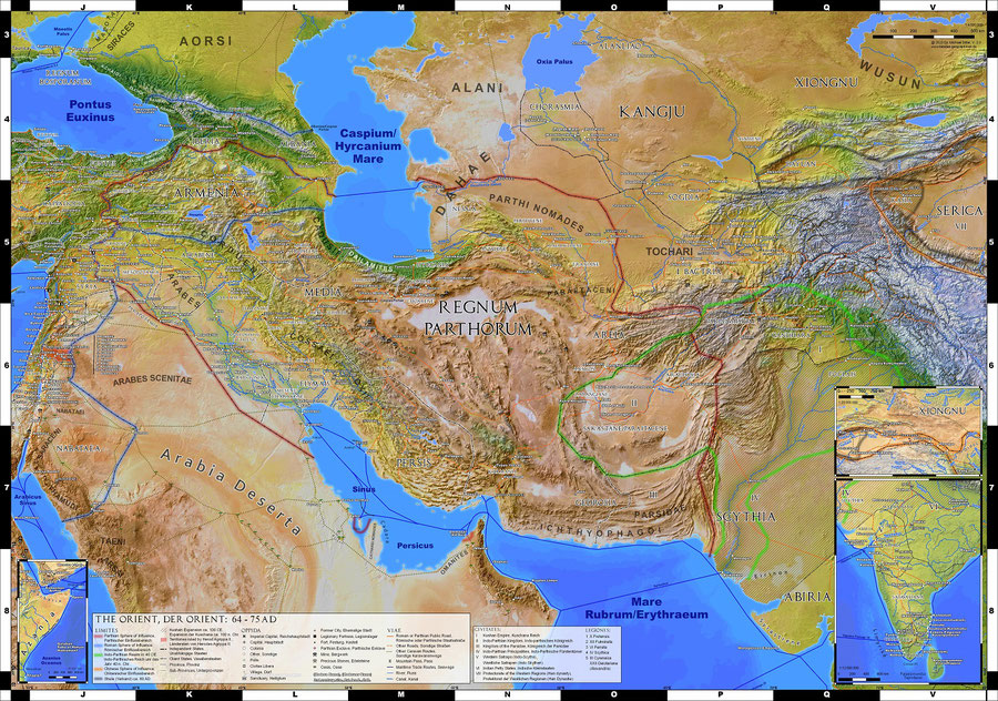 Parthian Empire, Silk Road