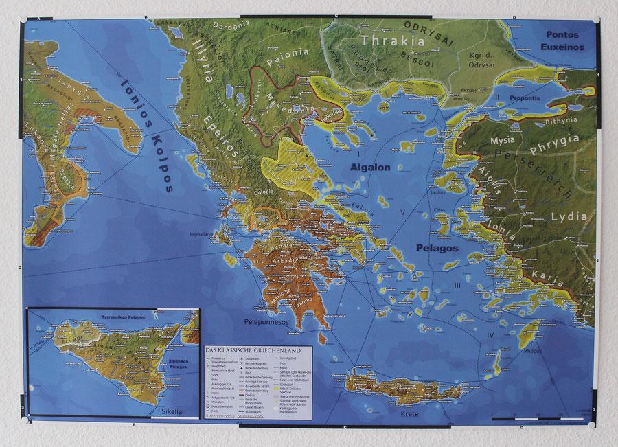 Das klassische Griechenland, Attisch-Delischer Seebund, Peloponnesischer Krieg