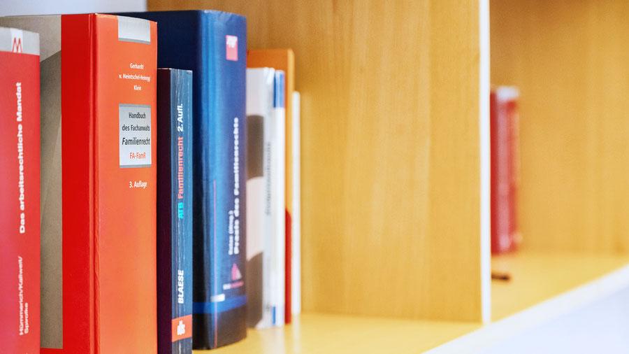 Bücherregal Rechtanwalt Halten am See
