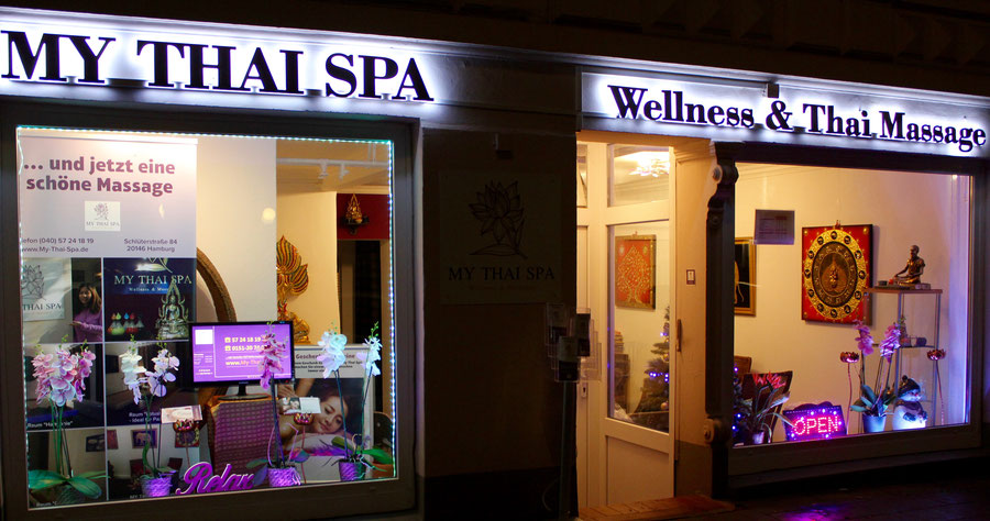 MY THAI SPA Wellness & Thai Massage Eimsbüttel Rotherbaum, Schlüterstraße 84