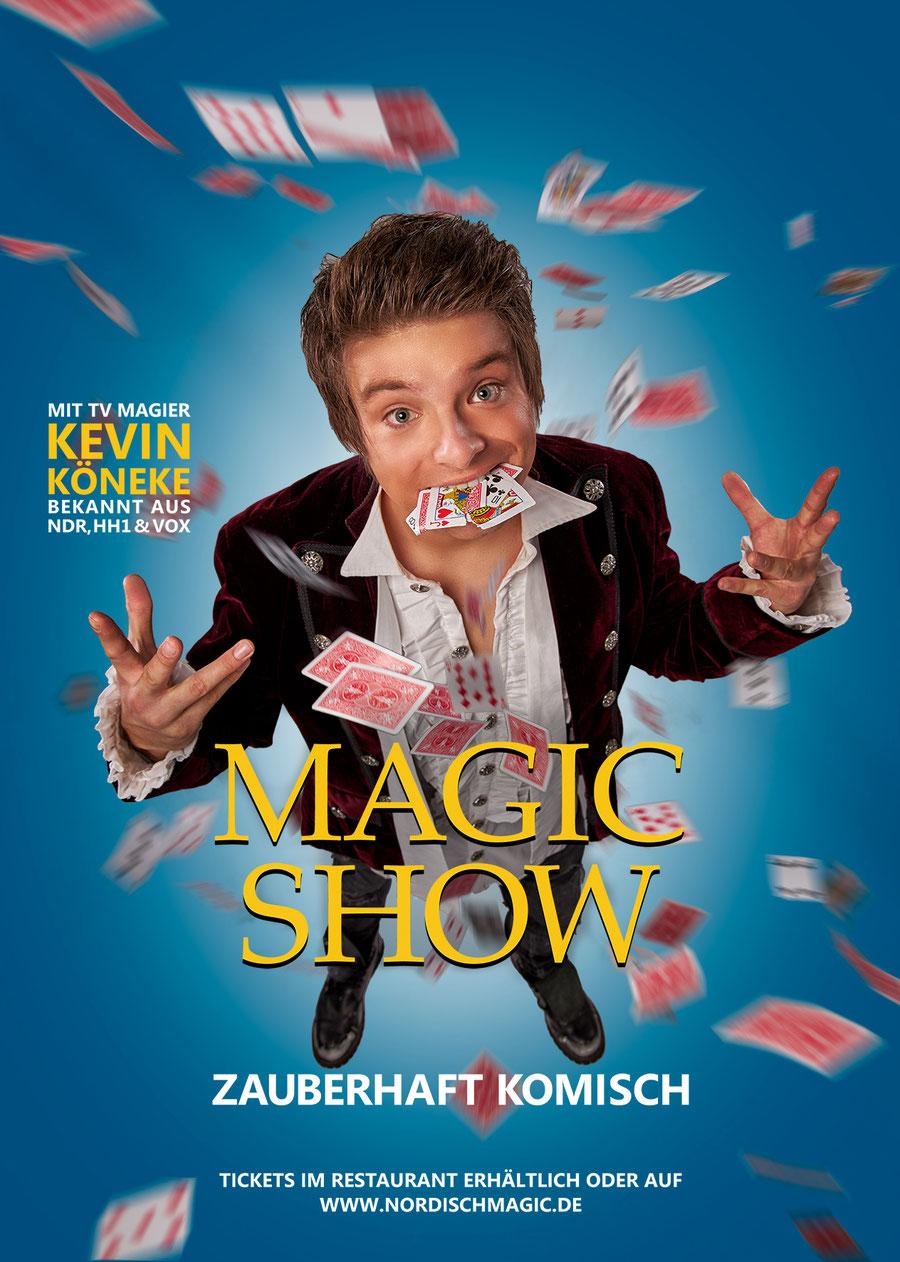 Zaubershow mit Zauberer Kevin Köneke in Hamburg