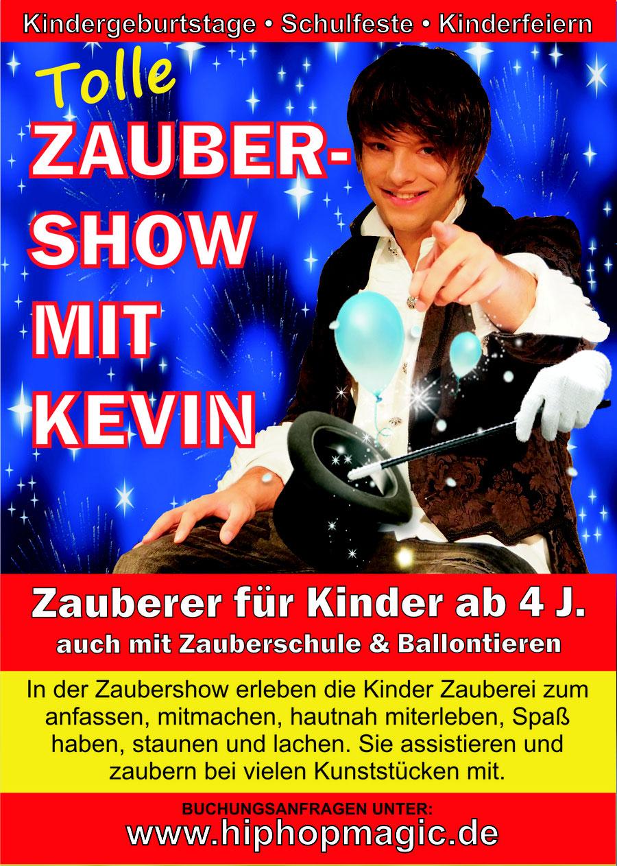 Hamburger Zauberer für Kindergeburtstage,  Schulfeste, KiTa Feiern