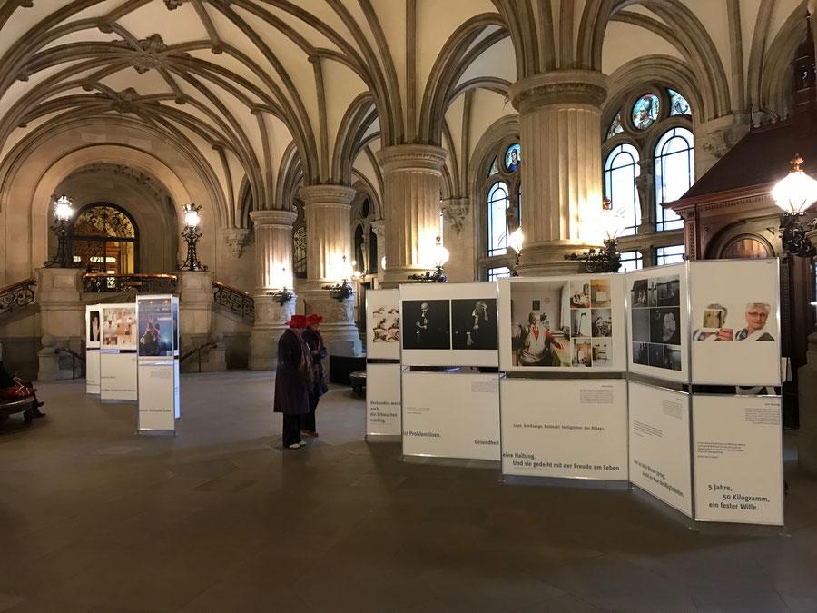 Wanderausstellung, Fotos, Selbsthilfe, Manfred Wigger, Fotoausstellung, vdek, Rathaus Hamburg,