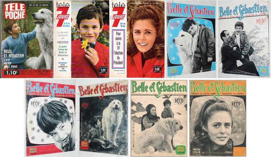 Magazines Belle et Sébastien Cécile Aubry
