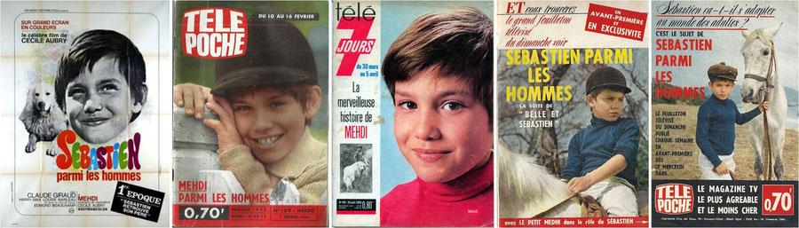 Magazines Sébastien parmi les hommes Cécile Aubry