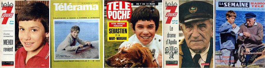 Magazines Sébastien et la Mary-Morgane Cécile Aubry