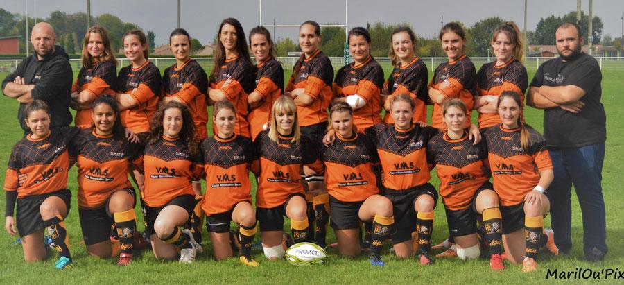 FEMININES à X - saison 2018/2019 - Championnes de Ligue Occitanie