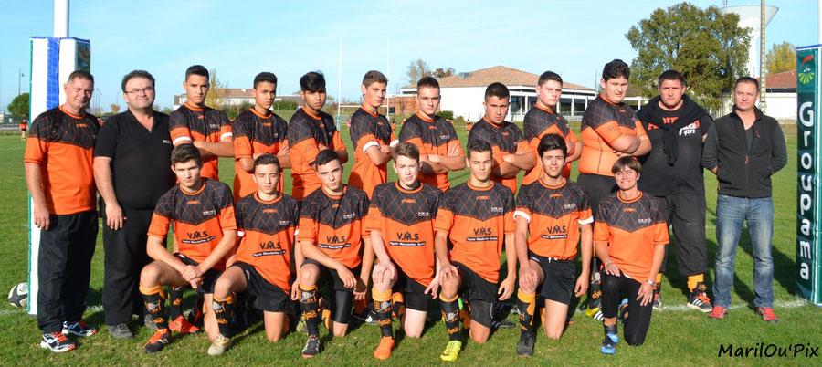 Equipe Juniors 2015/2016