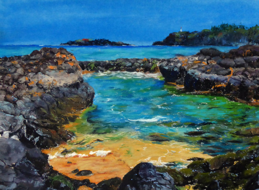 Wave,Pastell