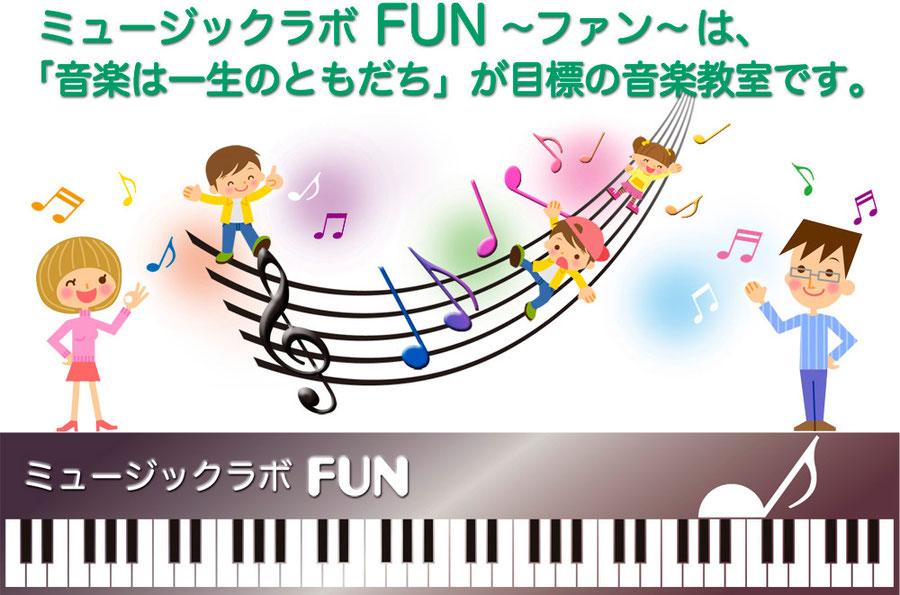 千葉県市川市の音楽教室|ミュージック・ラボFun