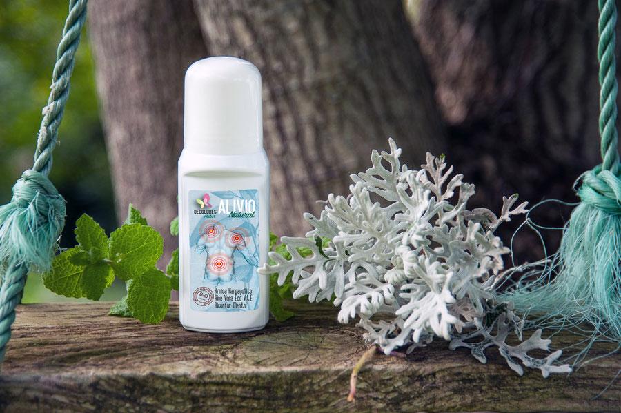 Alivio natural de dolores-cosmética natural-tienda online decolores natur
