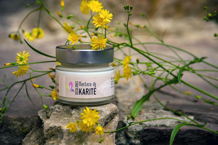 manteca de karité-cosmética natural ecológica-decoloresnatur