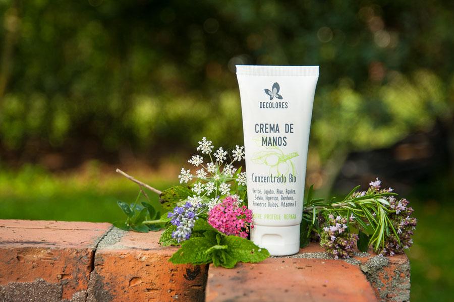 crema de manos-cosmética natural ecológica-decoloresnatur