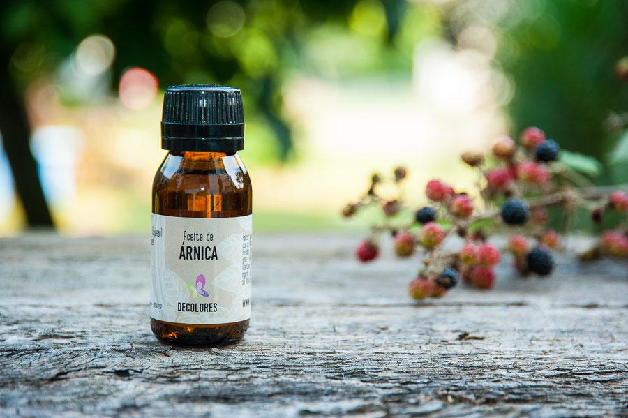aceite de árnica-decolores natur-esencias vegetales puras online