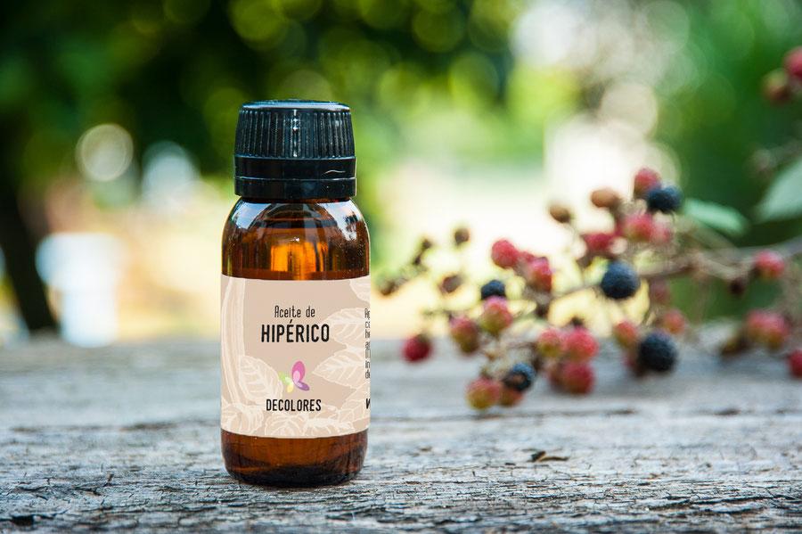 Aceite de Hipérico online-decolores natur-cosmética natural