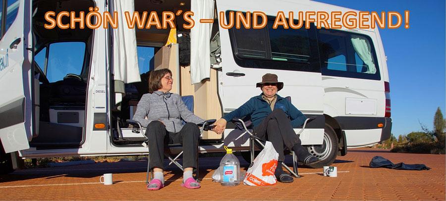 Reisebericht Australien, Camper
