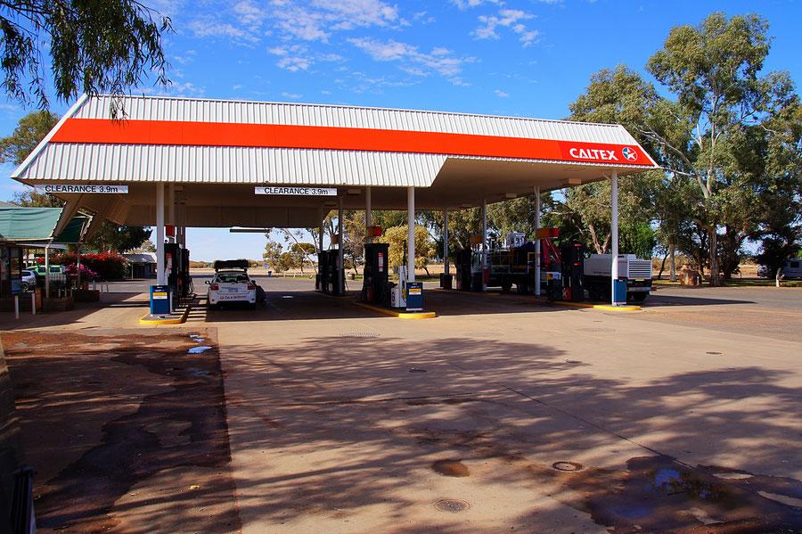 Tankstele, Outback, Australien
