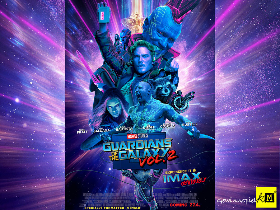 Guardians Of The Galaxy 2 IMAX - Marvel - kulturmaterial