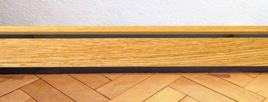 Verkleidung aus Holz Ihrer Wahl